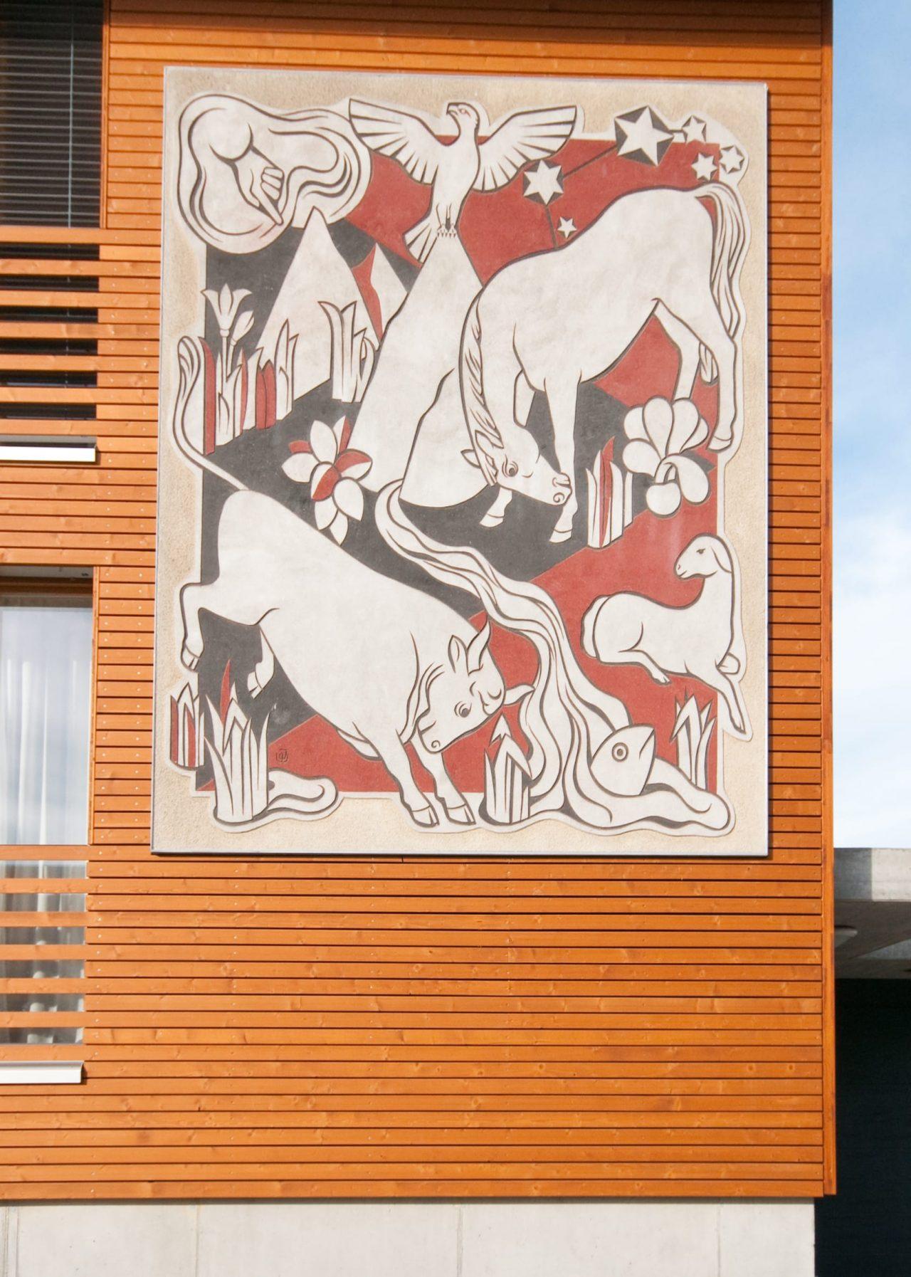 Berneck Kübachstrasse Fassadenbild